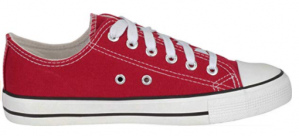 CLASSIC LACE-UP LOW TOP CAP TOE FASHION SNEAKER